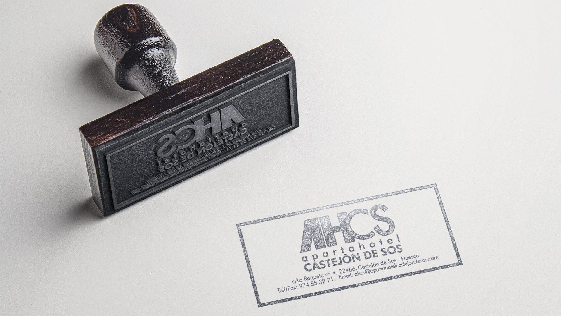 Apartahotel Castejón de Sos sello personalizado