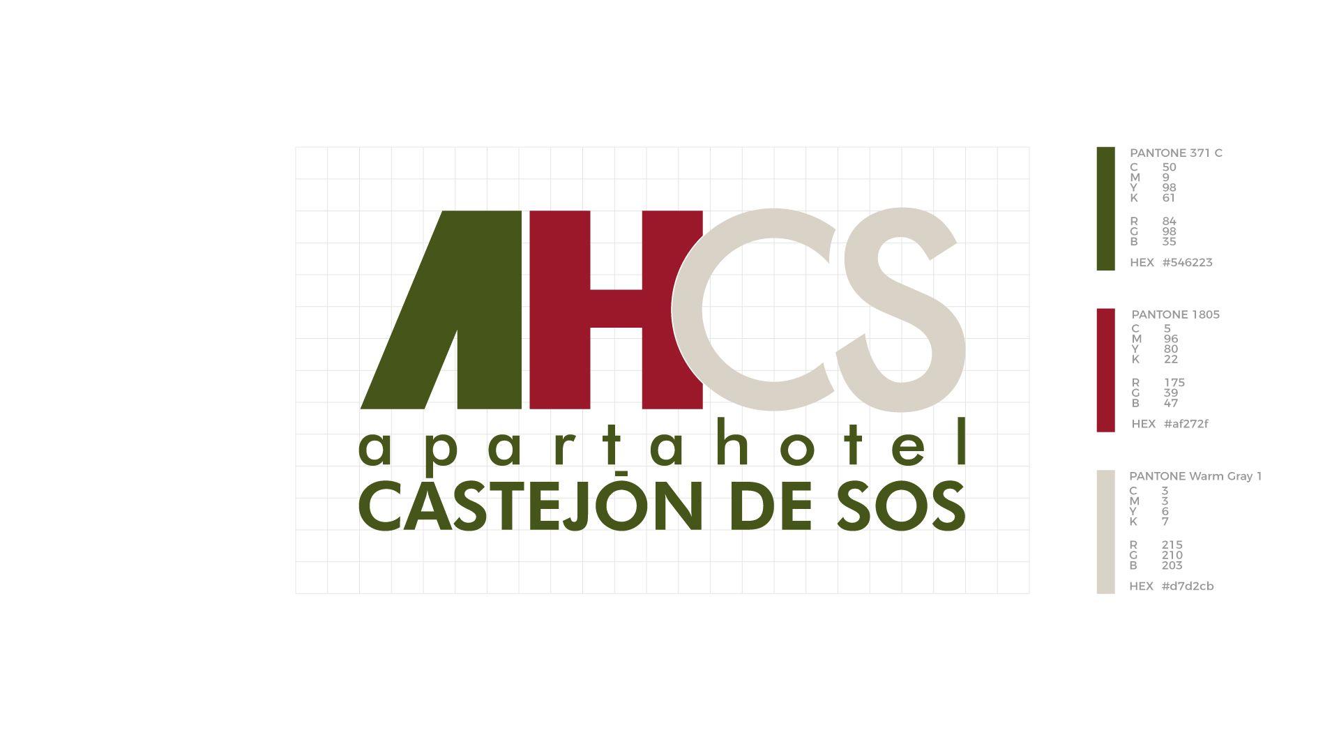 Apartahotel Castejón de Sos logo