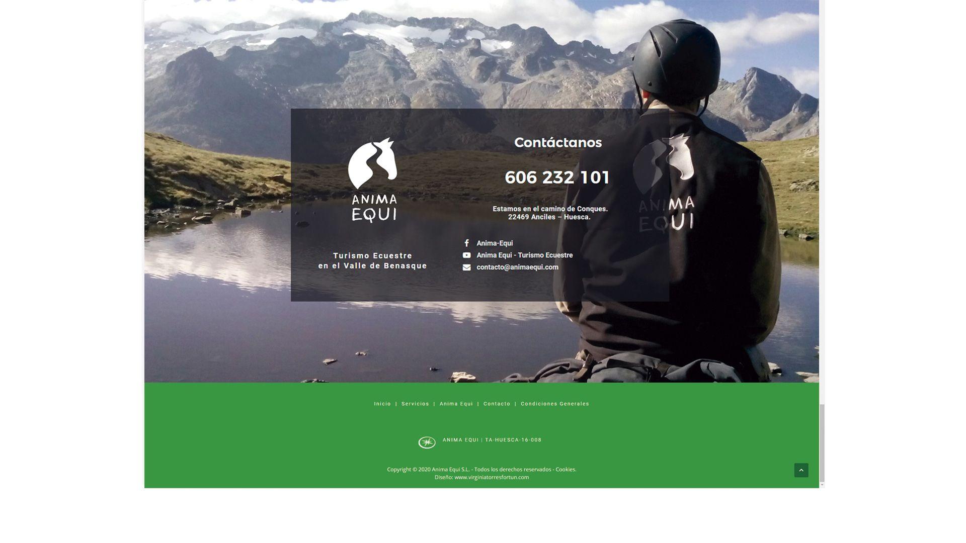 Diseño web pirineos