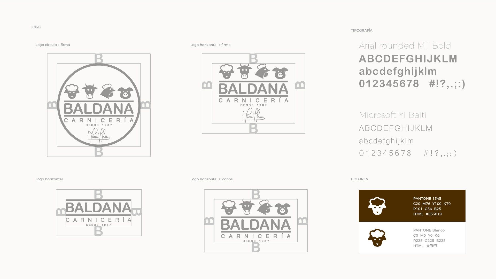 Logo carnicería Baldana