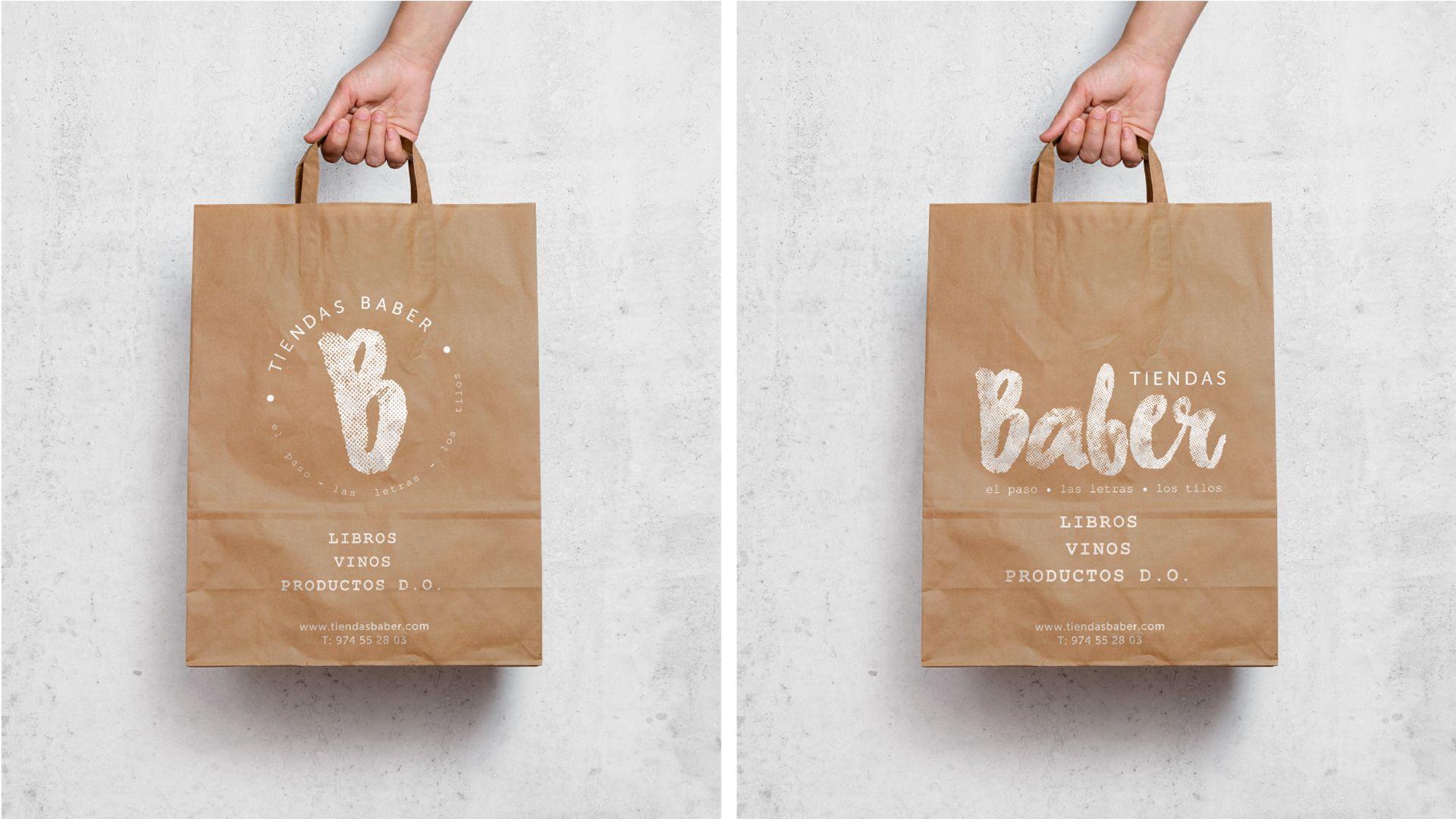 Tiendas Baber bolsas