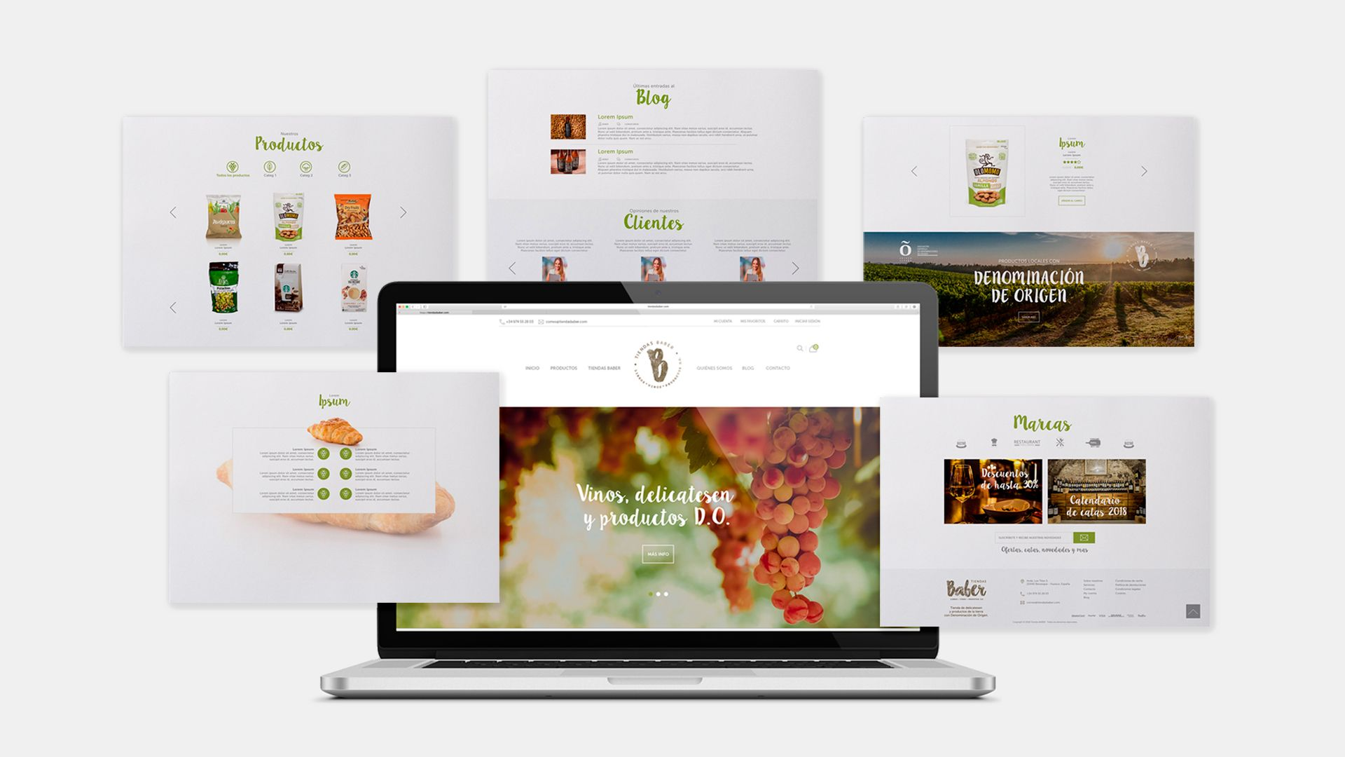 Tiendas Baber Diseño web