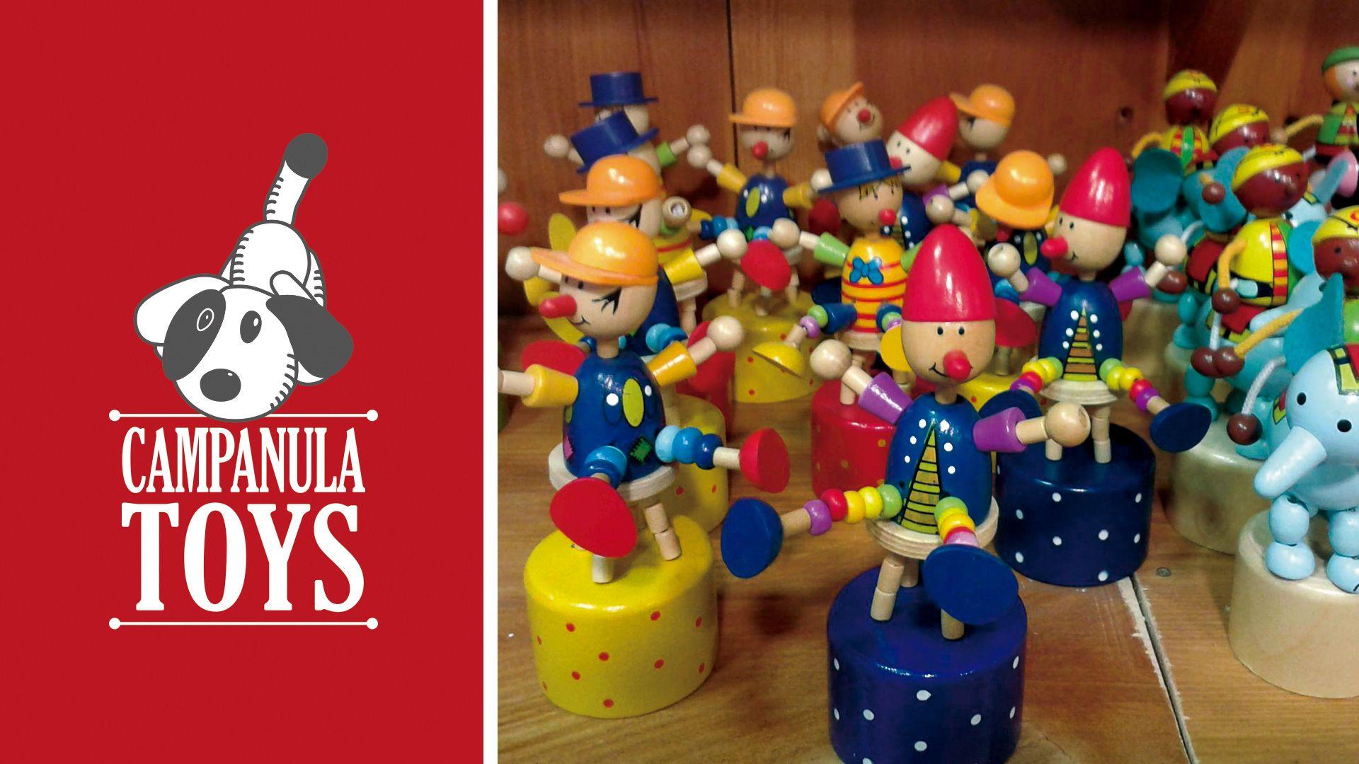 Campanula Toys identidad corporativa