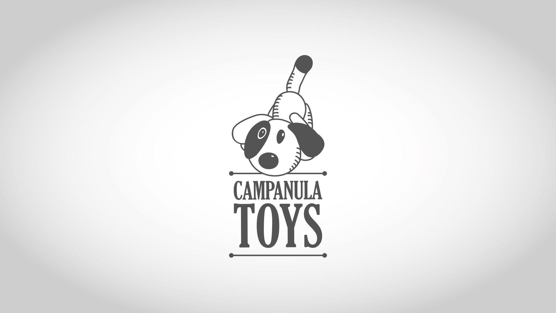 Imagen corporativa juguetería Campanula Toys