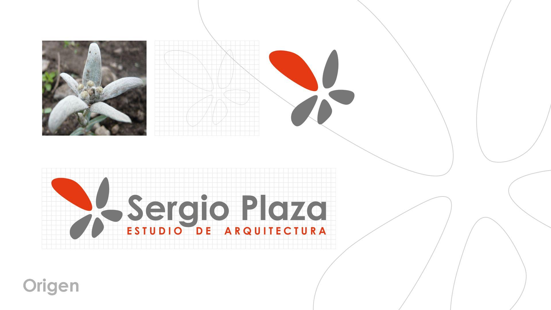 Sergio Plaza Arquitecto logo origen