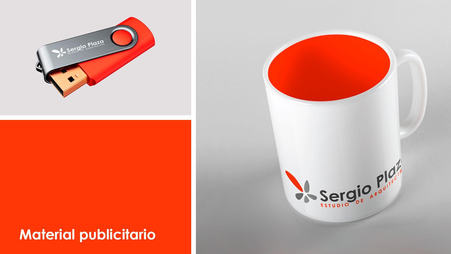 Sergio Plaza Arquitecto material publicitario